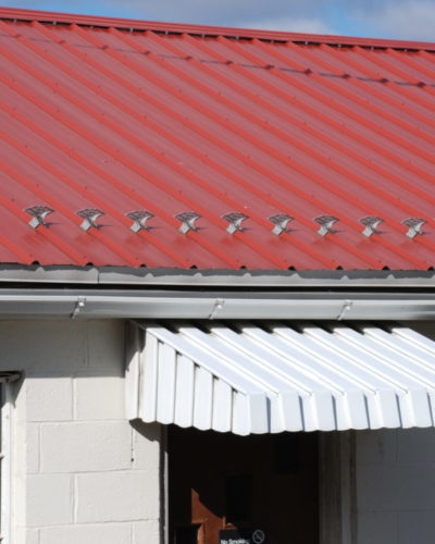 jalco snowguards red metal roof 1