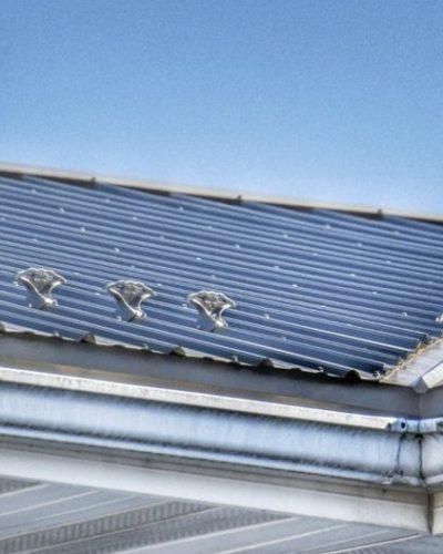 jalco snowguards - metal roof auto garage - corner - 86452367