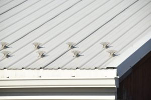 jalco snowguards white warehouse roof snowguards - closeup -guard1 - 86493100