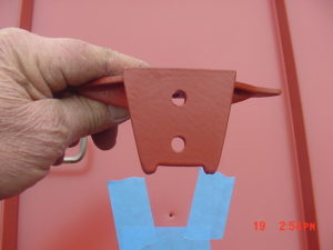 jalco snowguards red metal roof installation 4
