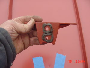 jalco snowguards red metal roof installation 3