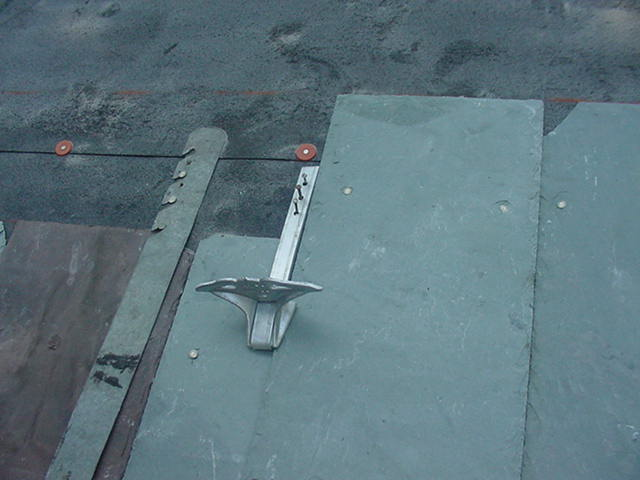 jalco snowguards slate roof installation 8