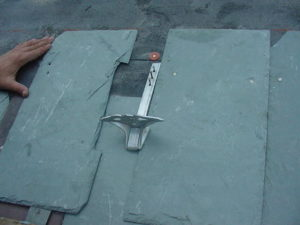 jalco snowguards slate roof installation 7
